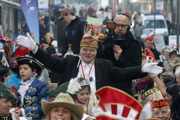 Unnaer Karnevalist Helmut Scherer – Fußgängerzone Unna