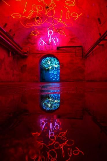 Zentrum für Internationale Lichtkunst – Unna – Tunnel of Tears